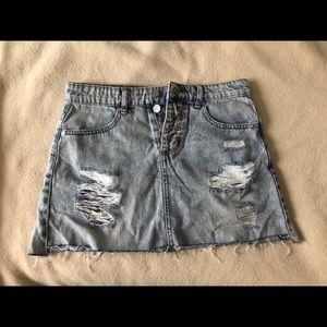 Indigo Rein Jean Skirt